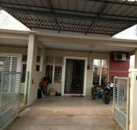 END LOT Single Storey with KITCHEN CABINET & LOTENG