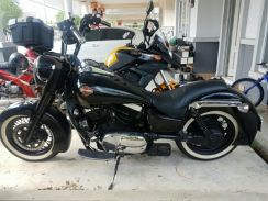 Vulcan 1500 convert Harley Fatboy