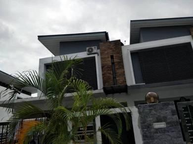 Kangkar Pulai Taman Pulai Hijauan 2 Storey End Lot For Rent