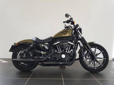 Harley Davidson XL883N w/ Custom Exhaust ( 48 )