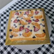 Fruits Pastry Cake