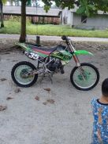 Motocross kawasaki kx 85/100