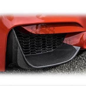 Bmw F32 F30 M4 M3 Carbon fiber front splitter