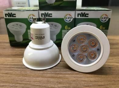 Nvc GU10I 6w 3000k led bulb