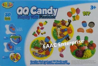 QQ Candy Play Doh Dough Plasticine Food Maker Mold