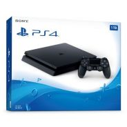 PS4 SLIM 500GB/1TB with 4 games & 2 controllers