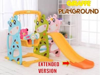 Kids giraffe playground