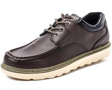 F0250 Retro Dark Brown Casual Martin Boots Shoes R