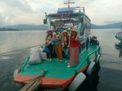 Silangit Medan Indonesia Ground Tour