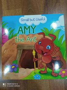 Kids story book Amy the ant