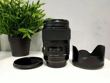 SIGMA ART 35 mm f1.4
