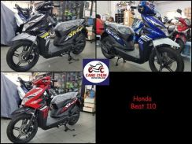 Honda Beat beat 110 Loan Easy & Zero D/P Now