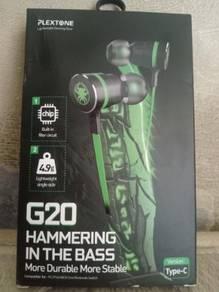 Plextone G20 Earphone Gaming