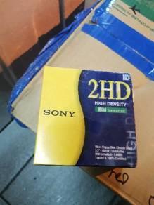 Sony 1.44MB Micro Floppy Disk (New) 1Box, 10Pcs