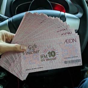 Aeon Voucher Worth RM350