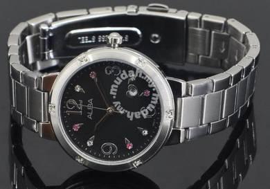 Alba Ladies Swarovski Crystal Watch VJ22-X159BSS
