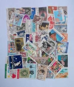 Australia stamps mix 50 pcs