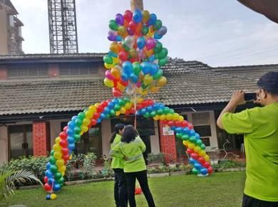 179) Combo Arch Set 50pcs Balloon