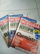 SPM Physics, Biology and Chemistry practice