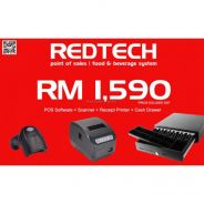 RedTech POS System Package : Software + Hardware