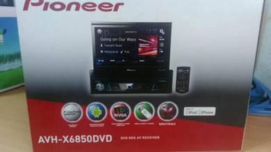 Pioneer AVH-X6850DVD one din DVD touch screen