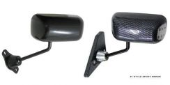 F1 Style Mirror Carbon Look Universal All -Car