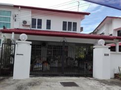 Double storey semi D - Miri