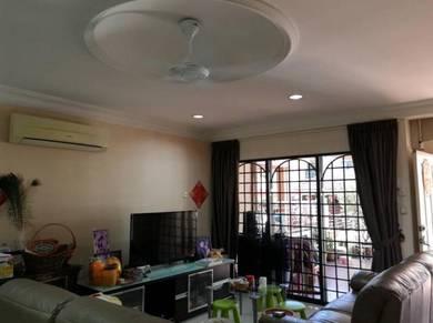 Taman Bukit Segar 2.5 landed link house, Leisure mall, Cheras