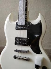 Shelter Detroit SG electric guitar
