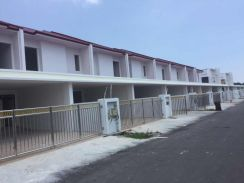 Double storey terrace, behind merdeka mall