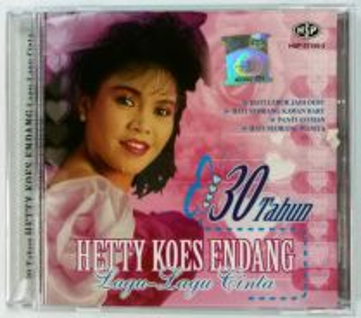 CD HETTY KOES ENDANG Lagu Lagu Cinta 30 Tahun