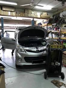 Toyota Avanza New Car Air Cond Service