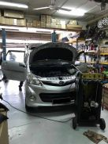 Toyota Avanza New AirCond Service Open Dashboard