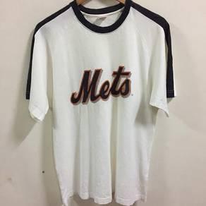MLB New York Mets Shirt Raglan Size L