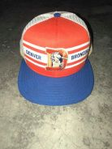 Denver Broncos Trucker Cap 80s