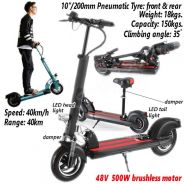 500W Electric Scooter Bicycle Bike