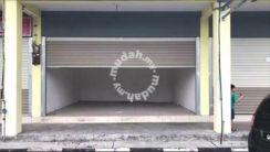Jalan sentoria 3,single storey shop lot.