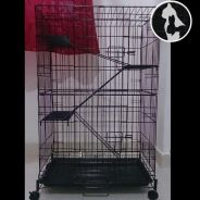 Sangkar Kucing 3lv Cat Cage (Limited Edition)