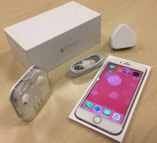 Apple iphone 6s GOLD Memori 128GB with Fulset
