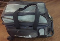 Bowlers Dream Two balls and roller bag