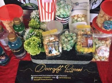 Popcorn Door Gift Kuantan