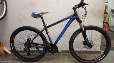 ALLOY 27SP MTB blue Hydraulic basikal COMP 27.5''