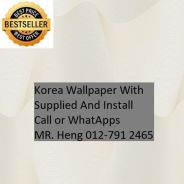 3D Korea Wall Paper with Installation lku7