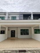Double Storey Terrace Inter at Curtin Water, Miri (TENATED)