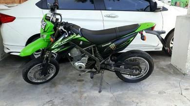 2013 Kawasaki D-Tracker 150 Dapat taya kros