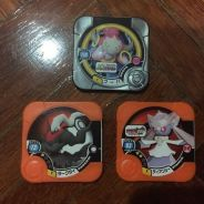 Pokemon Tretta Game Hoopa Dianci Dakrai set