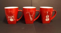 KIT KAT MUGS Limited Edition Music Series