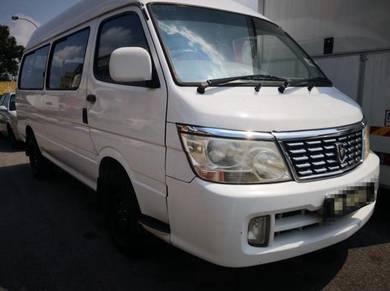 Jinbei H1 2.2L Petrol Window Van / Panel Van 2015