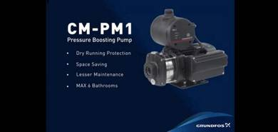 Grundfos home water pressure pump cm3-5pm1