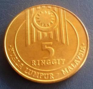 RM5 Sukan Asia Tenggara Ke XV, 1989 (Item A)